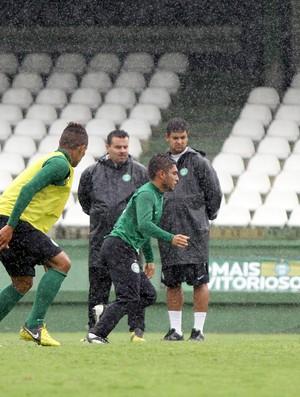 Marquinhos Santos Thiago Primão Coritiba treino (Foto: Divulgação / Site oficial do Coritiba)