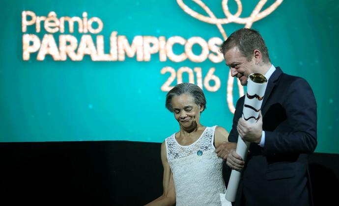 Márcia Malsar Andrew Parsons Prêmio Paralímpicos (Foto: Fernando Maia/Mpix/CPB)