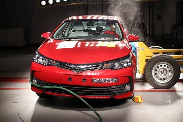 Toyota Corolla crash test Latin NCAP (Foto: Divulgação)