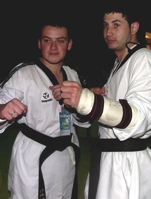 Rodrigo Paiva e William Resende disputam até 80 kg (Foto: Arquivo Pessoal)