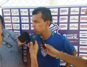 Didira, meia do CSA (Foto: Augusto Oliveira/GloboEsporte.com)