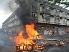 Moradores de ocupação em João Pessoa protestam e fecham rua