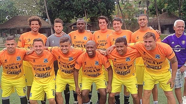 BLOG: Everton e Arão afinam dupla do Fla em mais uma pelada de fim de ano