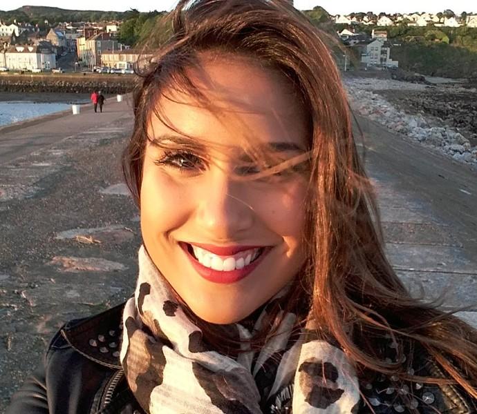 Carollini Honório se orgulha de sua participação no BBB7 (Foto: Globo / Kiko Cabral)