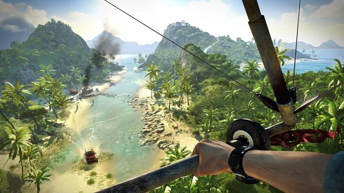 Novos meios de transporte foram introduzidos em Far Cry 3 (Foto: Divulgação)