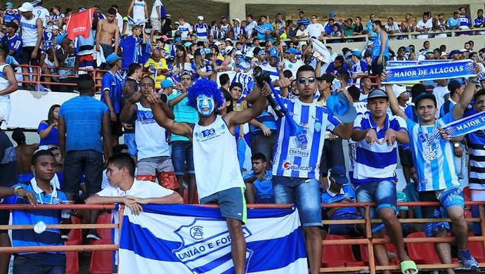 CSA  torcida (Foto: Ailton Cruz/Gazeta de Alagoas)