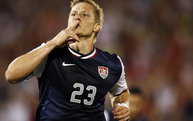 Brek Shea, seleção americana Copa Ouro (Foto: Reuters)
