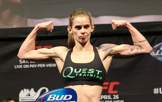 Jessamyn Duke UFC (Foto: Evelyn Rodrigues)