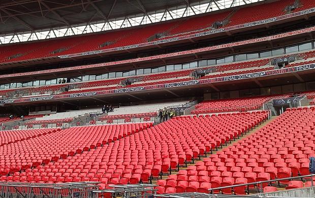estádio wembley final liga dos campeões (Foto: Rodrigo Sirico / Globoesporte.com)