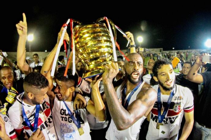 Santa Cruz Copa do Nordeste (Foto: Marlon Costa / Pernambuco Press)