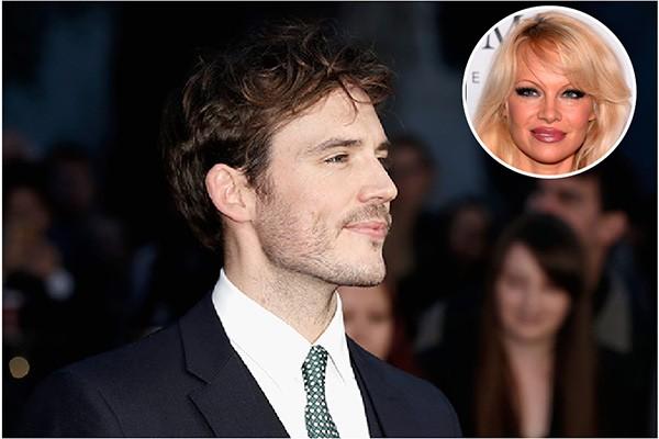 Sam Clafin e Pamela Anderson (Foto: Getty Images)