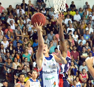 Bauru Basquete x Limeira, Ricardo Fischer, NBB 7 (Foto: Henrique Costa / Bauru Basket)