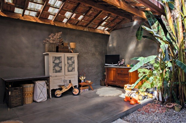 Telhado antigo (Foto: Lufe Gomes / Editora Globo)