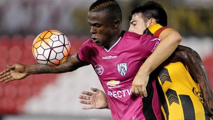 José Angulo, Independiente Del Valle x Guaraní-PAR (Foto: Divulgação/ Independiente Del Valle)