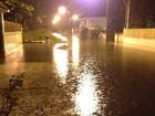 Chuva causa alagamentos em seis cidades do PR e afeta 911 pessoas