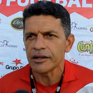 João Carlos Cavalo, técnico do Rio Branco-AC (Foto: Reprodução/GloboEsporte.com)