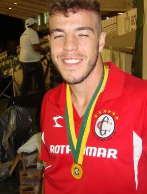 Roberto Dias, zagueiro do Campinense (Foto: Phelipe Caldas / Globoesporte.com/pb)
