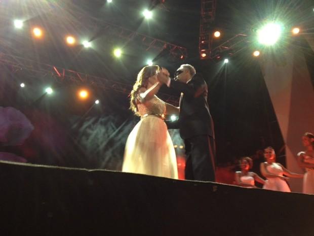 Ivete Sangalo se apresenta com Gilberto Gil no Festival de Verão de Salvador, na Bahia (Foto: EGO)