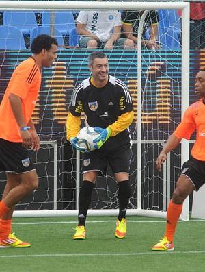 Vítor Baía na Soccerex (Foto: André Durão/Action Imagens)