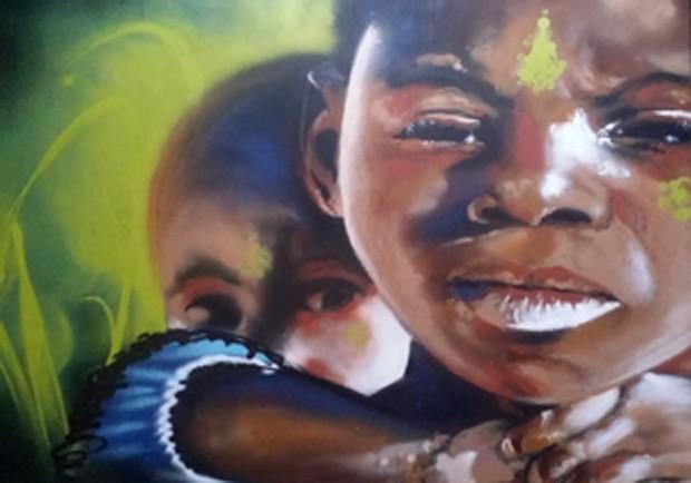 Público poderá apreciar nove obras inéditas do artista Tadeu Roberto Fernandes de Lima Junior, mais conhecido como Carão (Foto: Divulgação)