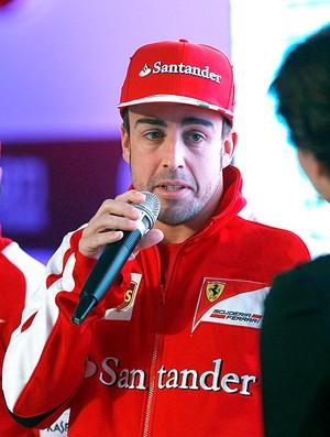 Alonso Massa evento China (Foto: Reuters)