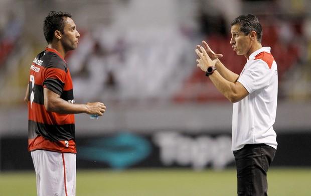 Ibson Jorginho Flamengo (Foto: André Mourão / Ag. Estado)