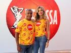 Grazi Massafera será musa de camarote na Sapucaí e Romário o novo rosto da cervejaria