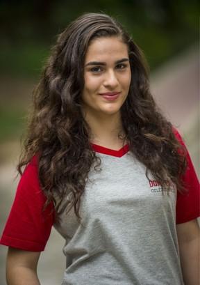 Lívian Aragão como Júlia na nova temporada de Malhação (Foto: Globo/João Cotta)