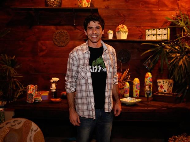 Lucci Ferreira chega em festa de Império (Foto: Ellen Soares / Gshow)