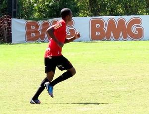 Marllon no treino do Flamengo  (Foto: Richard Souza / Globoesporte.com)