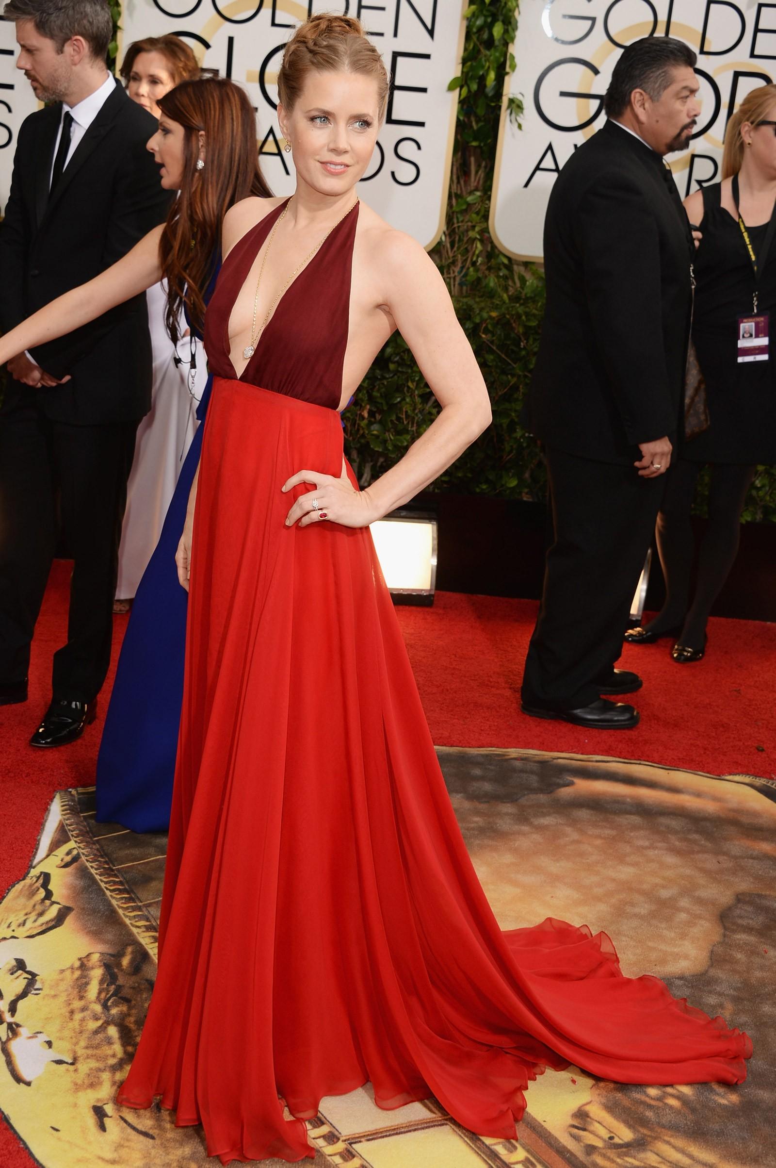 2013 - melhor atriz de comédia ou musical para Amy Adams, que vestiu Valentino (Foto: Getty Images)