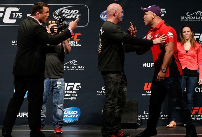 Chael Sonnen x Wanderlei Silva UFC175 (Foto: Getty Images )