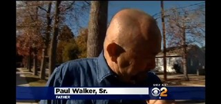 Pai de Paul Walker (Foto: Reprodução /  CBS)