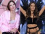 Antes e depois: veja tops da Victoria's Secret sem maquiagens e penteados
