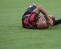 Jonathan inicia tratamento no Furacão  após lesionar a coxa contra o Londrina