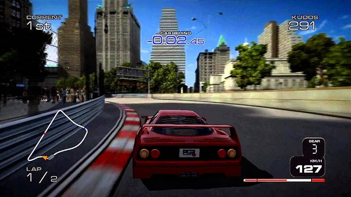 Game de corrida tem foco no gênero Arcade Racing (Foto: Reprodução  / Youtube)