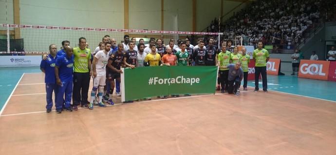 Bento Vôlei x Cruzeiro, Superliga Masculina (Foto: Divulgação / Bento Vôlei)