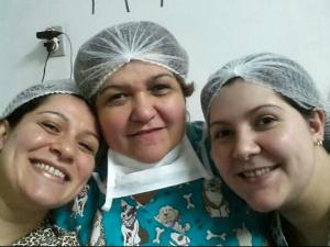 Mãe e filhas dividem a paixão pela Medicina (Foto: Amazônia em Revista)