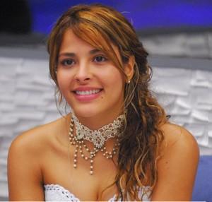 Gyselle no BBB8 (Foto: TV Globo)