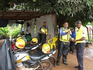 Mototaxistas poderão perder permissões (Foto: Divulgação/Secom Preitura de Palmas)