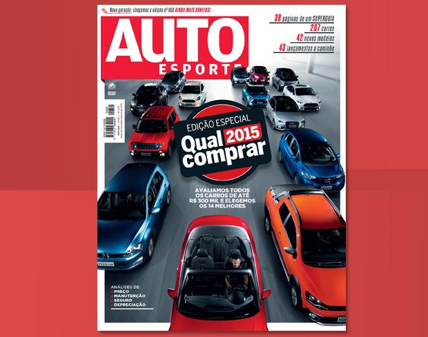 Edição Qual Comprar 2015 da Revista Autoesporte (Foto: Autoesporte)