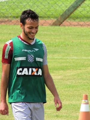 yago figueirense (Foto: Renan Koerich)