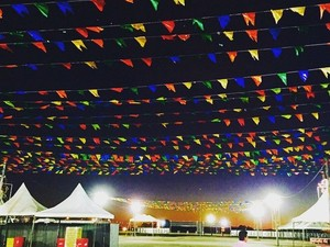 Estrutura é montada no pátio de Eventos em Petrolina (Foto: Divulgação / `Prefeitura Municipal de Petrolina)
