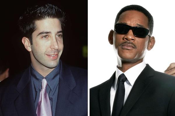 David Schummer perdeu o papel do Agente J para Will Smith (Foto: Getty Images / Reprodução)