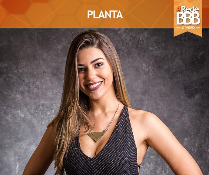 Vivian venceu a categoria Planta do Prêmio #RedeBBB (Foto: Gshow)