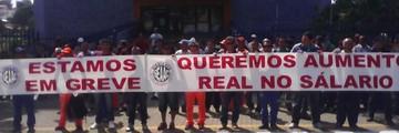 Audiência entre sindicato e Urbam termina sem acordo (Peterson Grecco/TV Vanguarda)