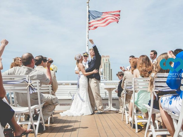 A família já fotografou casamentos realizados em barcos, zoológicos, aquários e nos quintais de casas (Foto: Arquivo Pessoal/ Grasi Favoreto)