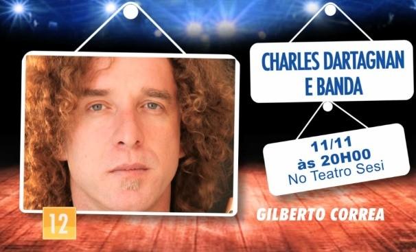 TV Anhanguera apresenta show de Charles Dartagnan. (Foto: TV Anhanguera)