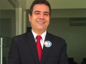 Professor Wagner Santiago (Foto: Michelly Oda/G1)