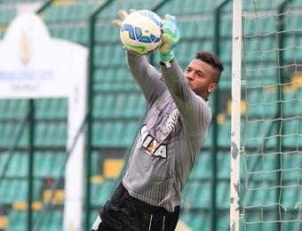felipe figueirense treino (Foto: Luiz Henrique / FFC)